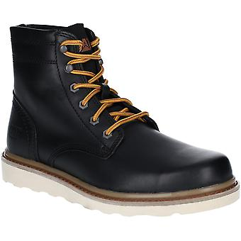 Caterpillar Mens Chronicle Durable Laced Leather Ankle Boots