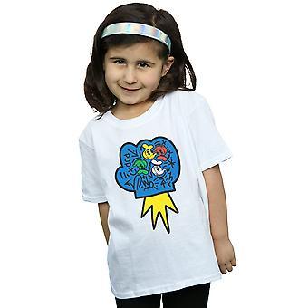 Disney Girls Donald Duck Pop Yumruk T-Shirt