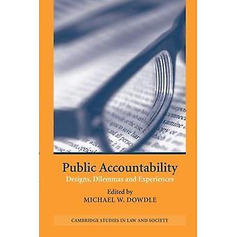Responsabilità pubblica: Disegni, dilemmi ed esperienze