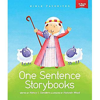 Bible Favorites (Set of 10) (One Sentence Storybooks)