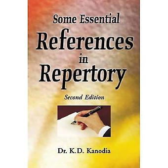 Algumas referências essenciais no repertório
