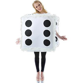 Orion Costumes Unisex Giant Fluffy Dice Novelty Fancy Dress Costume