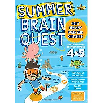 Quête de cerveau d'été: Entre les Grades 4 & 5 (Summer Brain Quest)