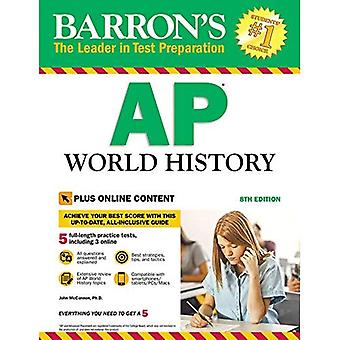 Barron's AP World History, 8th Edition: With Bonus Online Tests