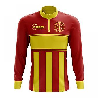 مقدونيا لكرة القدم مفهوم الرمز البريدي نصف ميدلايير الأعلى (الأحمر والأصفر)