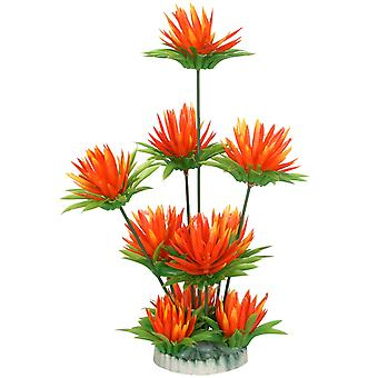 DIGIFLEX Aquarium Orange Aquarium Lily Dekoration Ornament
