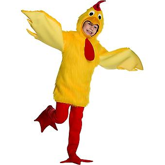 Fuzzy Chicken Child Costume