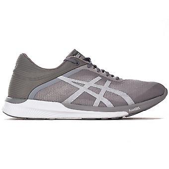 Asics FuzeX Rush Womens Running Fitness Trainer Shoe Grey