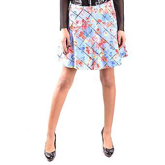 Liu Jo Ezbc086050 Women's Multicolor Cotton Skirt