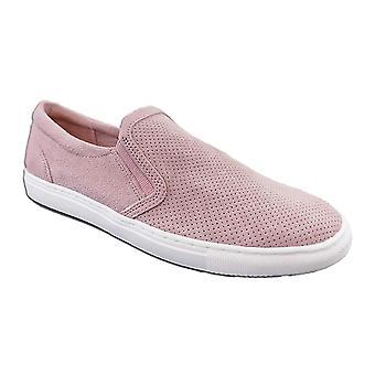 Bar III Mens Brant leder laag bovenste Slip op Fashion Sneakers