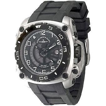 Zeno-watch mens watch mistery quadrato automatico 4236-i1