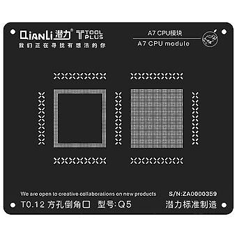 QianLi BGA Stencil Template - A7 CPU Module - iPhone 5S - Q3
