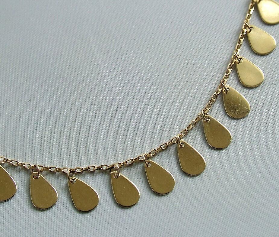 Christian 14 karaat geel gouden collier