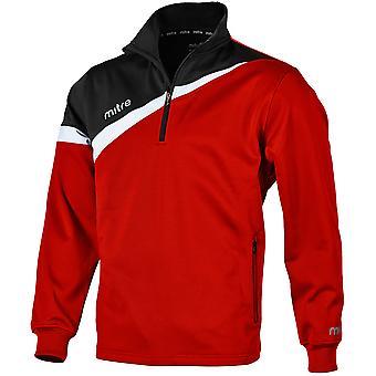 Mitre Primero Poly 1/4 Zip Top Shirt For Boys