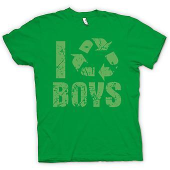 Mens T-shirt - I Love Boys
