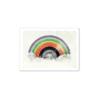 Kunst-poster-vinyl spectrum 50 x 70 cm