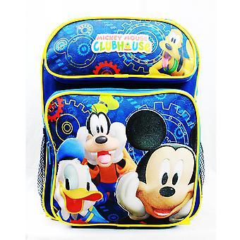 Medium rugzak-Disney-Mickey Mouse Clubhouse nieuwe MC26775