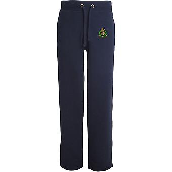 Royal Military Police - Licensed British Army Embroidered Open Hem Sweatpants / Jogging Bottoms