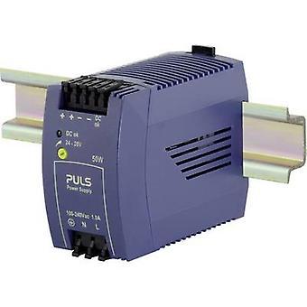 PULS MiniLine ML50.100 Rail mounted PSU (DIN) 24 V DC 2.1 A 50 W 1 x