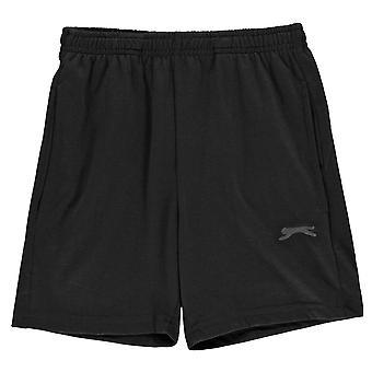 Slazenger Kids Boys Jersey Short Juniors Pantaloncini Pantaloni Bottoms