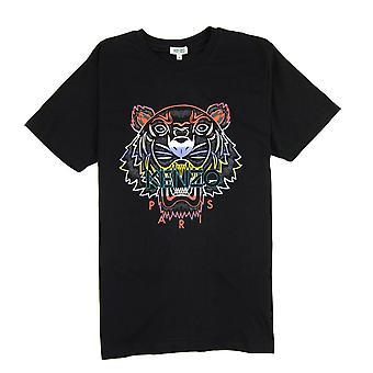 Kenzo Gradient Tiger T-shirt zwart