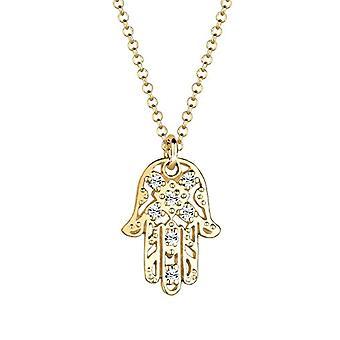 Goldhimmel Silver Pendant Necklace 925 with Swarovski Crystal