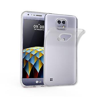 Cadorabo Case for LG X CAM Case Cover - Mobile Phone Case made of flexible TPU silicone - Silicone Case Protective Case Ultra Slim Soft Back Cover Case Bumper