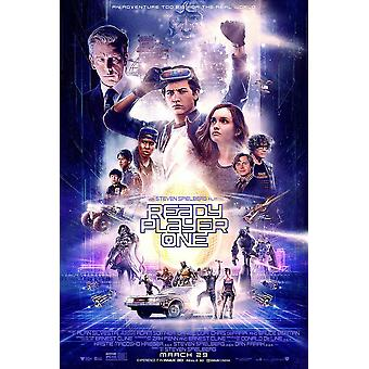 Ready Player One Original Movie Poster - The Oasis Final Style