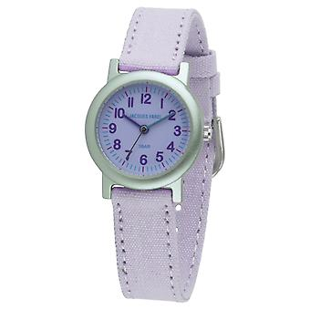 JACQUES FAREL Eco Kids horloge analoge Quartz meisje ORG 0310 Lila