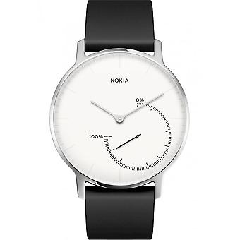 Withings - Activity Tracker - Smartwatch - STEEL - white - HWA01 BlackWhite