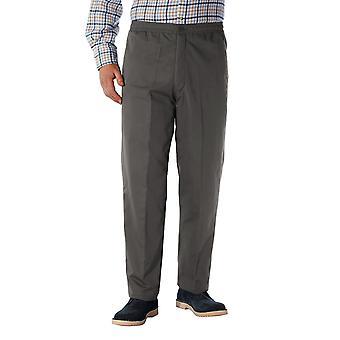 男士高 RISE 羊毛衬里休闲裤