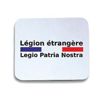 Tappetino mouse pad bianco wtc0688 legion etrangere