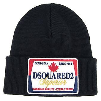 Dsquared2 Canadian Beanie Black