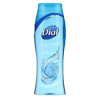 Dial body wash with moisturizers, spring water, 16 oz