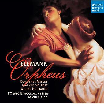 L'Orfeo Barockorchester - Telemann: Orpheus [CD] USA tuonti
