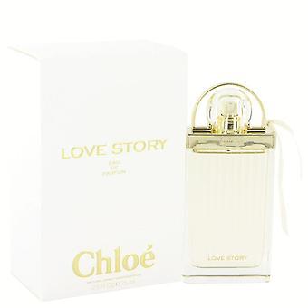 Chloe kärlekshistoria eau de parfum spray av chloe 515960 75 ml