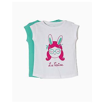 Zippy Pack 2 T-shirts Le Cerise
