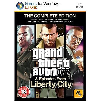 Grand Theft Auto IV Complete Edition PC Game