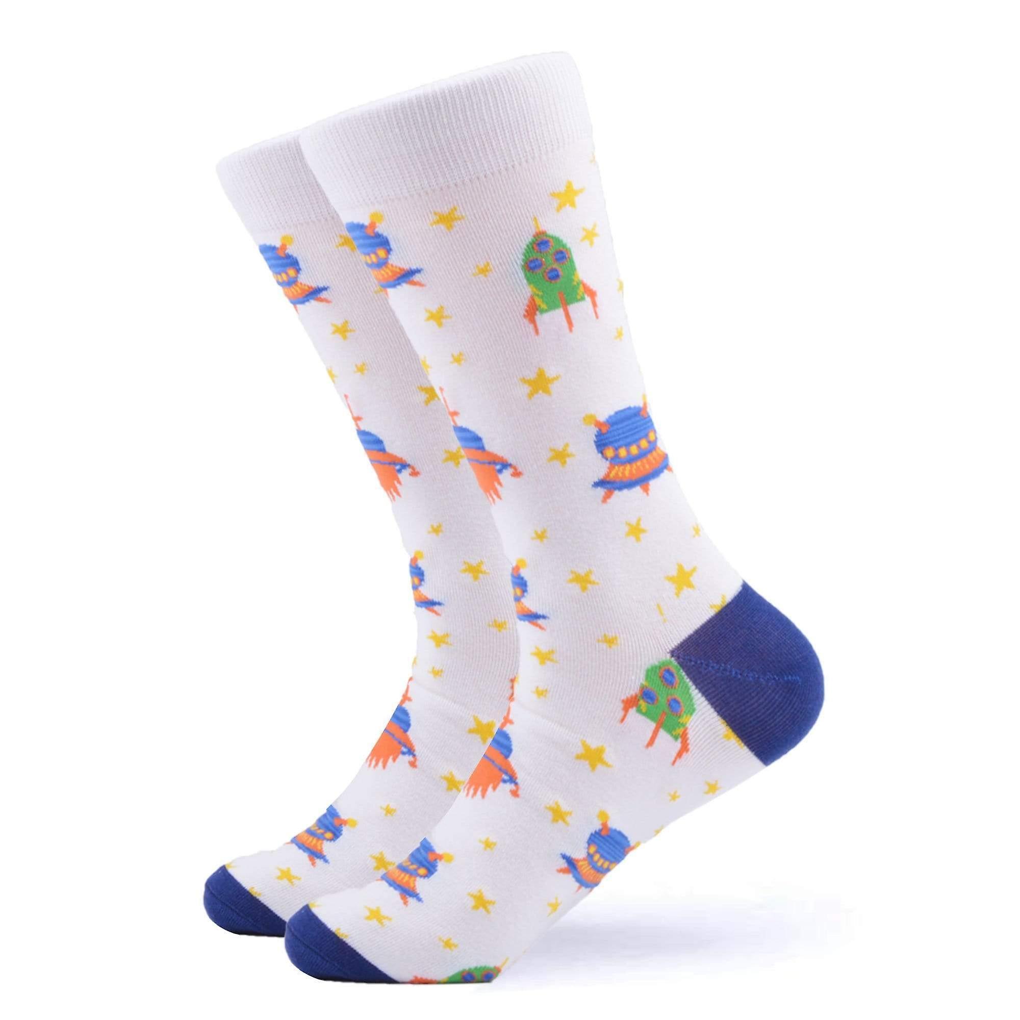 Rocket man space theme gift 3 pairs of socks