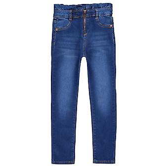 Firetrap Kids HW Zip Jean Girls Skinny Jeans Trousers Bottoms Pants