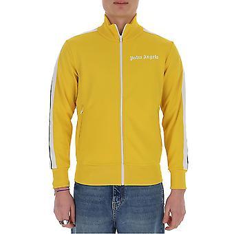 Palm Angels Pmbd001r203840016001 Men's Yellow Cotton Sweatshirt