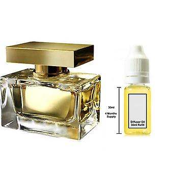 D&G The One For Her Inspired Fragrance 30ml Refill Essential Diffuser Oil Burner Scent Diffuser