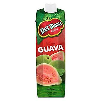 Del Monte Guava Nectar -( 960 Ml X 12 Pack )