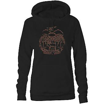 Damen Sweatshirts Kapuzen Hoodie - Torchwood Rugby Club