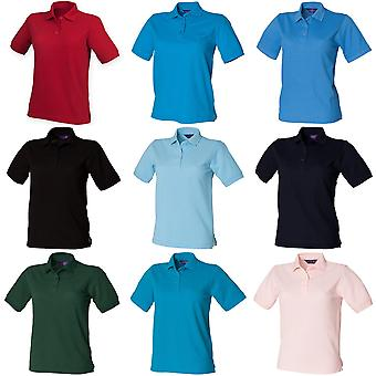 Henbury Womens/damer 65/35 Polo Shirt