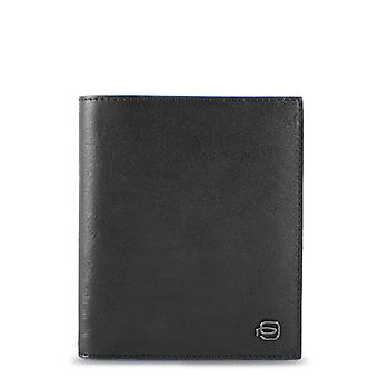 Piquadro Original Men All Year Wallet - Black Color 55560