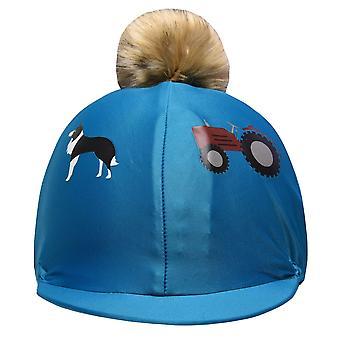 Shires Unisex Tikaboo Hat Cvr Kids Cap Accessory