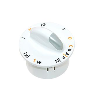 Zanussi White Washing Machine Control/Timer Knob