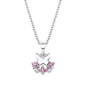 Prinzessin Lillifee Kinder Halskette Silber Schmetterling Mädchen 2027888