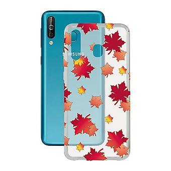 Mobile cover Samsung Galaxy A40s Contact Flex TPU Autumn